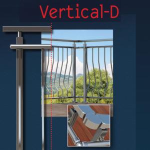 Vertical D καμπύλο