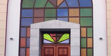 CHURCH FRONT 2