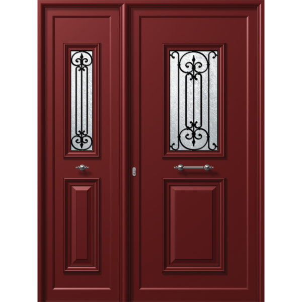 P101 P106  600x600 - P101 conventional door with a P106 side, safety
