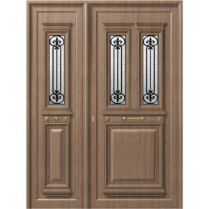 P105 P136 300x300 - Παραδοσιακή πόρτα P136 με πλαϊνό P105, ασφάλεια