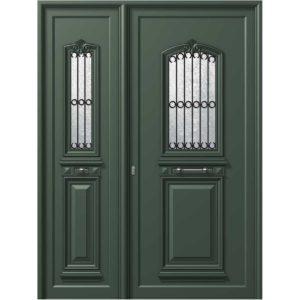 P115 P110 300x300 - Παραδοσιακή πόρτα P110 με πλαϊνό P115, ασφάλεια