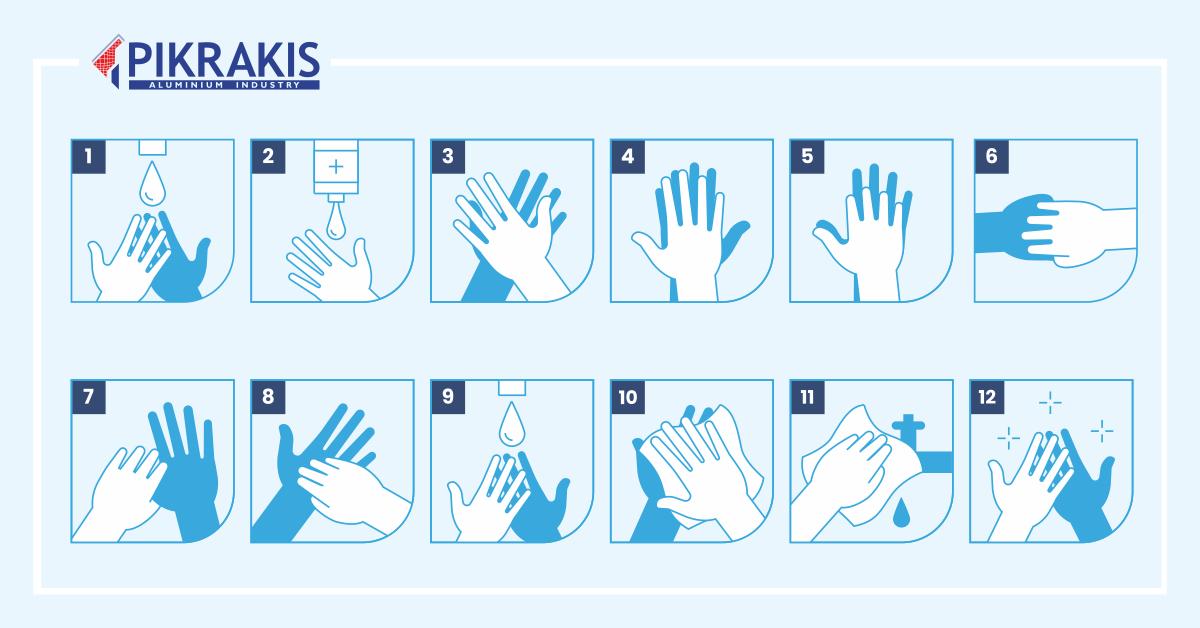 wash hands - Πως το πλύσιμο των χεριών προστατεύει την υγεία μας!